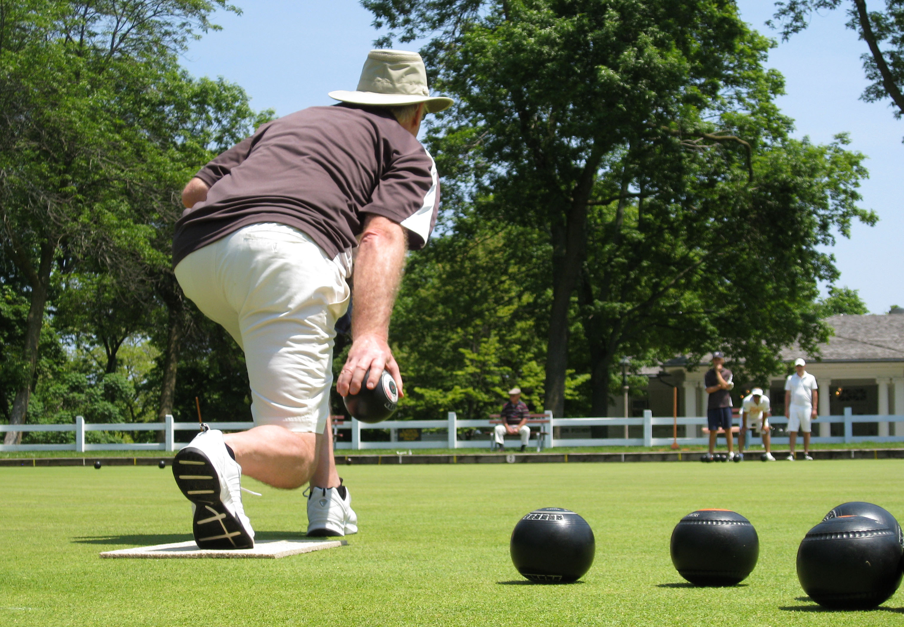 Summer Lawn Bowls In Milwaukee Wi Lawnbowls Central