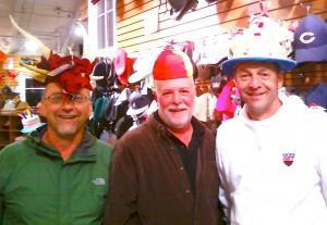 Central Division representatives on Team USA!! ~ Steve Nelson, Joe Zinna & Bob Schneider
