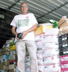 Mitchell SD man amasses lawn bowls for new club